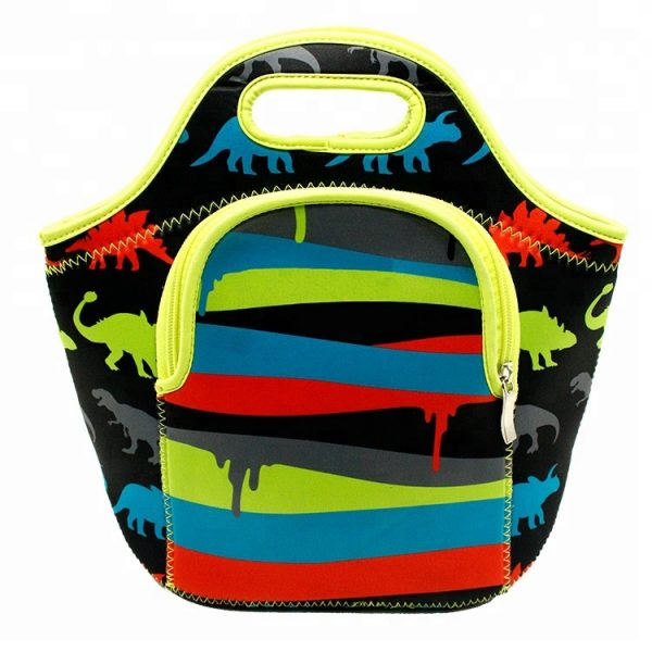 Customized-Sublimation-Kids-Insulated-Neoprene-Lunch-Box