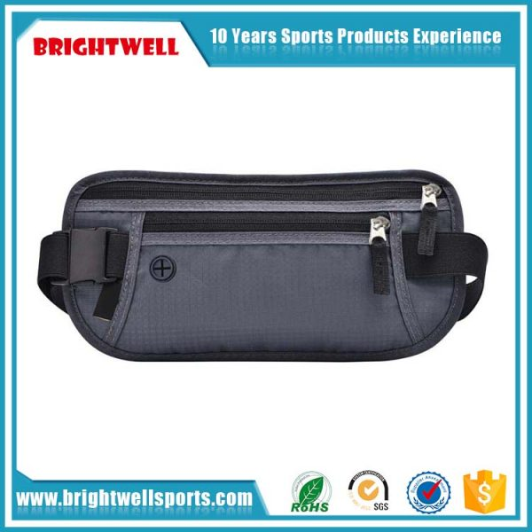 Newest Classic Slim Travel RFID Blocking Money Belt (3)