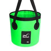 12L green fishing bucket