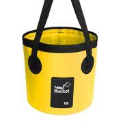 12L yellow fishing bucket