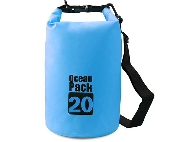 20L blue dry bag