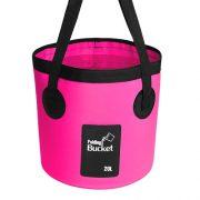 20L fishing pink bucket