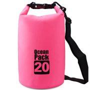 20L pink dry bag