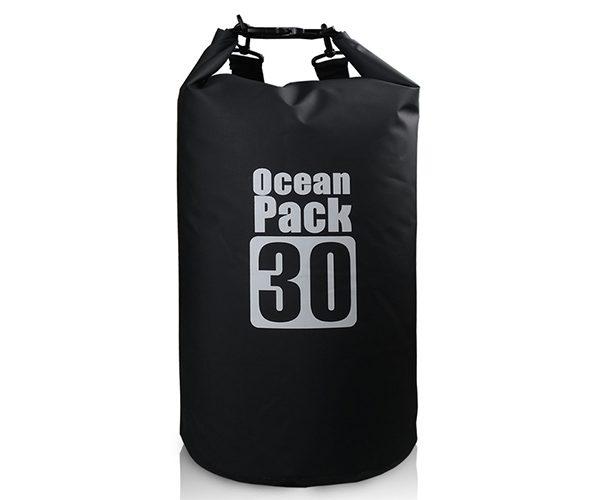 30L black dry bag