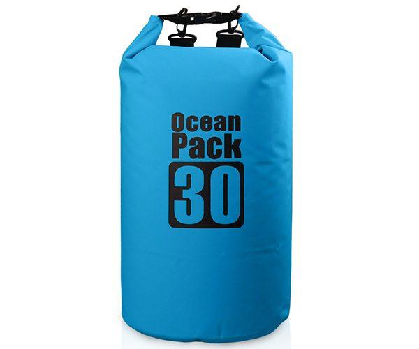 30L blue ocean pack dry bag