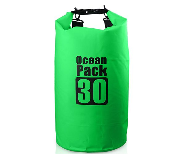 30L green dry bag