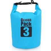 3L blue dry bag
