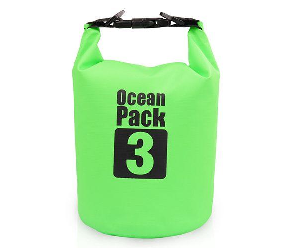 3L green dry bag