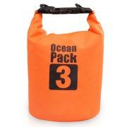 3L orange dry bag