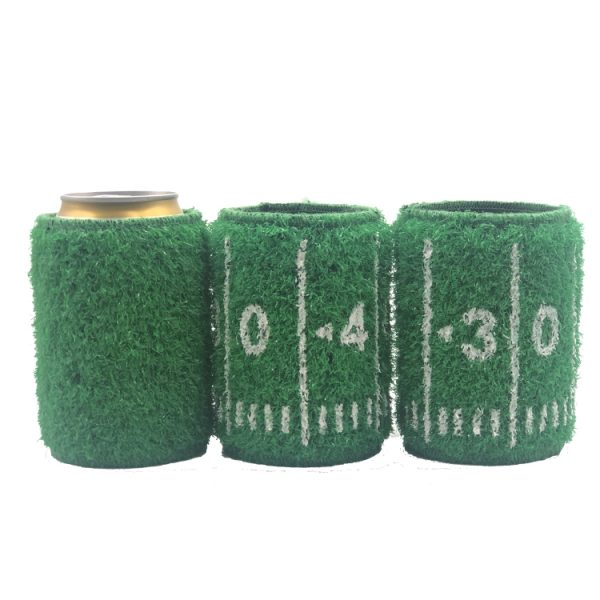 football turf can cooler